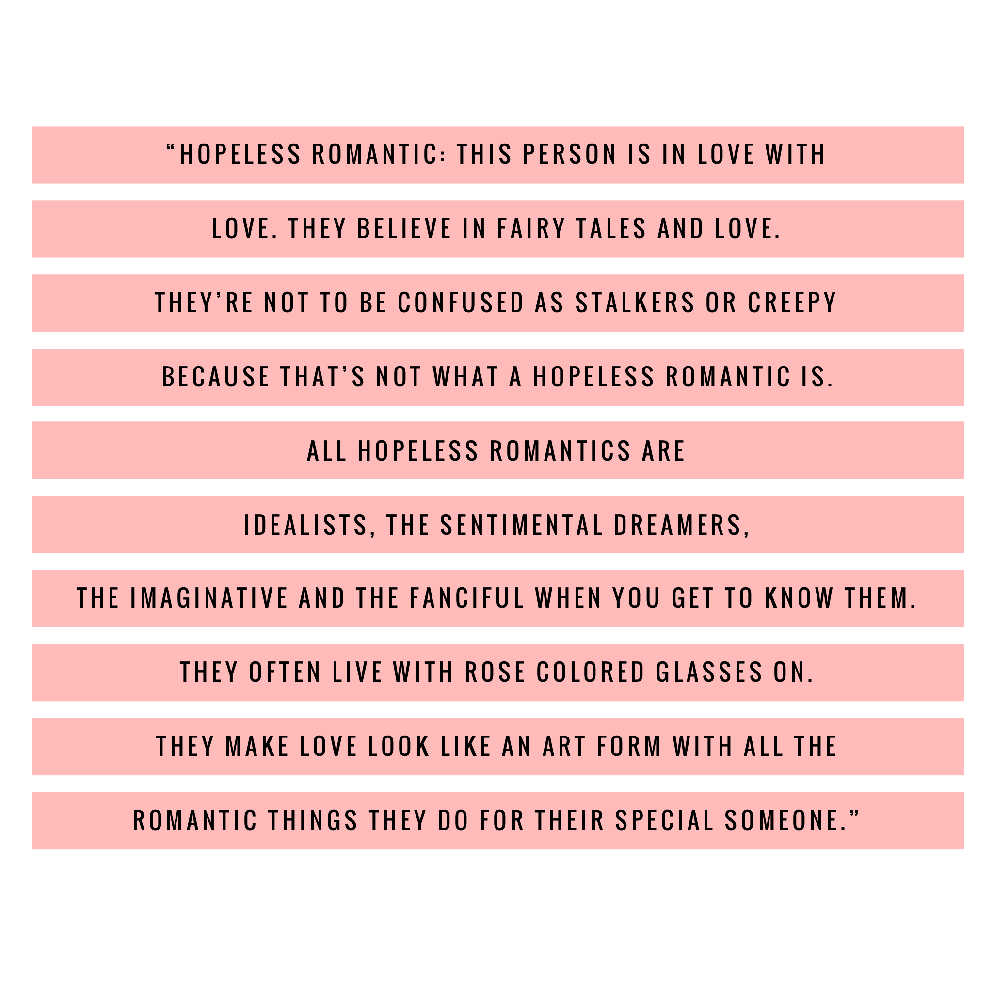 WHAT IS A HOPELESS ROMANTIC? - Bodhi Society